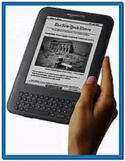 Amazon Kindle 3 Screensaver Hack