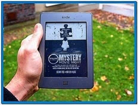 Amazon Kindle Touch Sponsored Screensavers