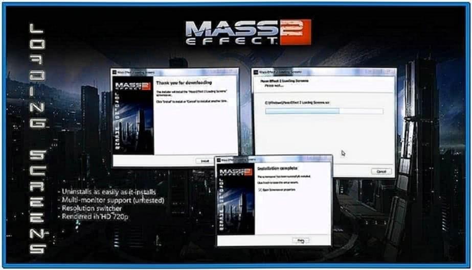Amd Mass Effect Screensaver