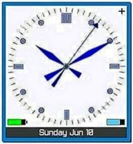 Analog Clock Screensaver for Blackberry 8310
