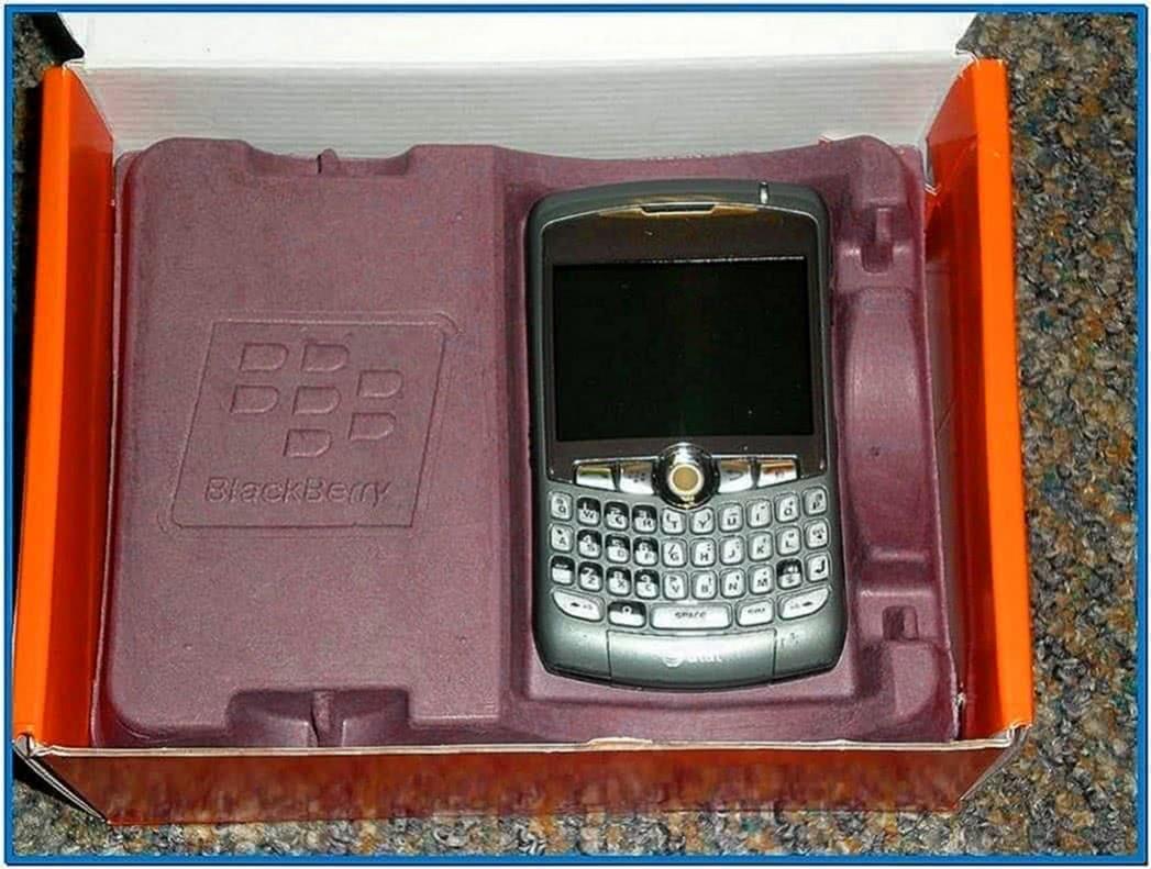 Analog Clock Screensaver for Blackberry 8310