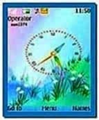 Analog Clock Screensaver for Nokia 3110c