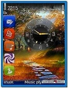 Analog Clock Screensaver for Nokia E5