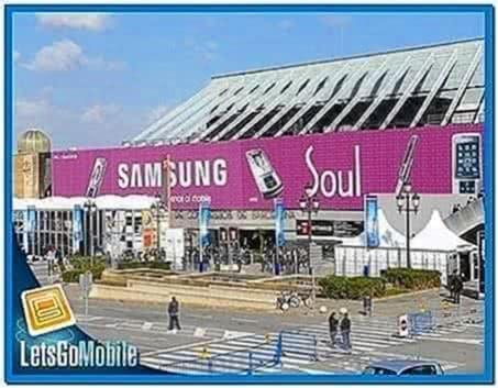 Analog Clock Screensaver for Samsung Mobile
