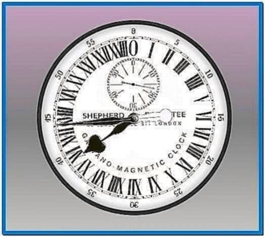 Analog Clock Screensaver Mac OS X