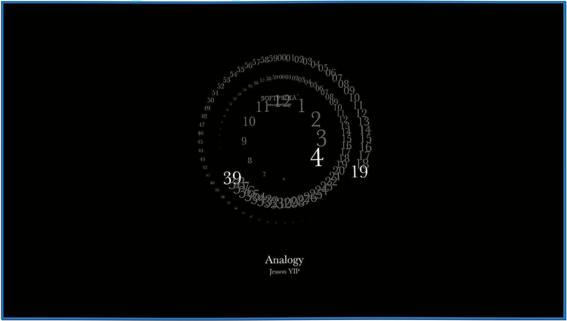 Analogy Mac screensaver