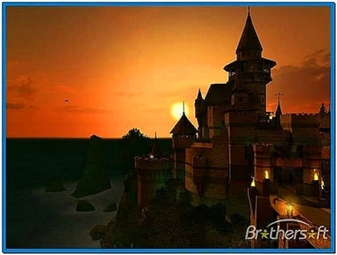 Ancient Castle 3d Screensaver Download Free