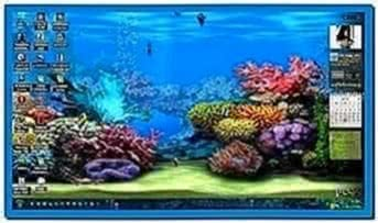 Animated 3D Aquarium Screensaver