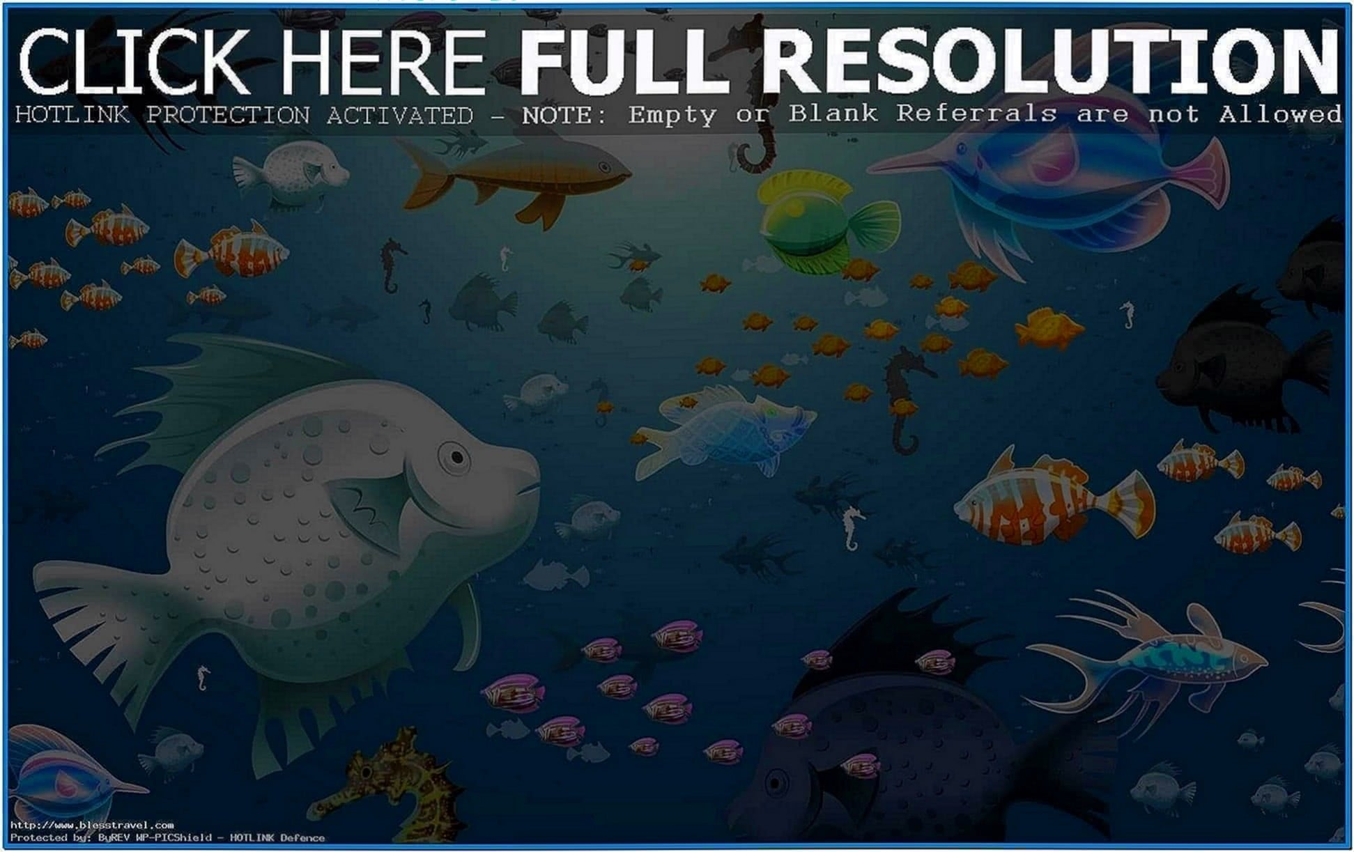 Animated aquarium screensavers Mac
