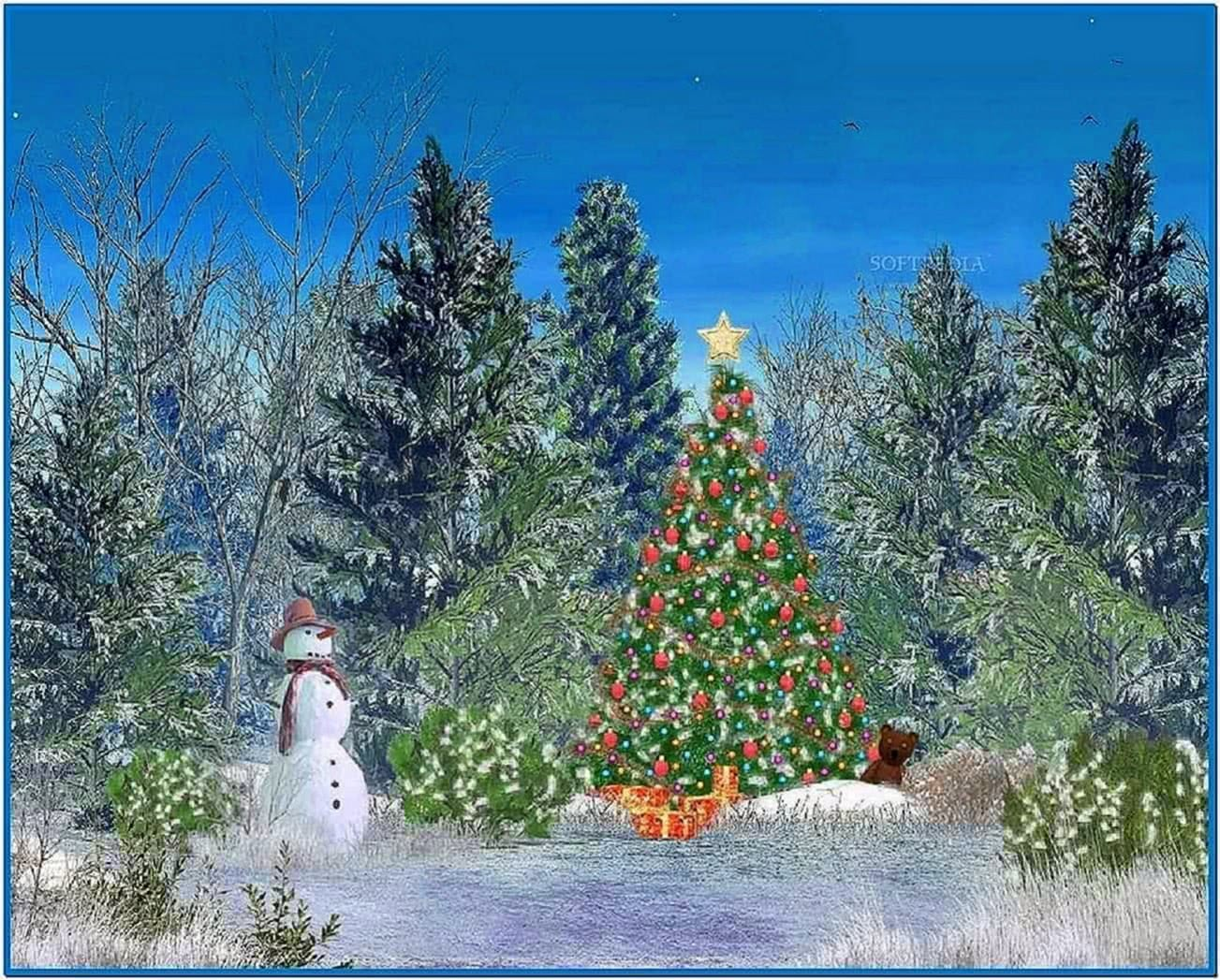 Animated Christmas Desktop Screensavers