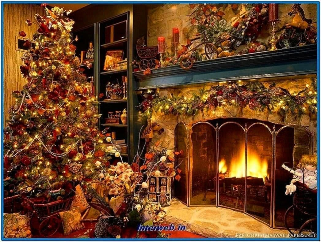 Animated Christmas Fireplace Screensavers Download Free