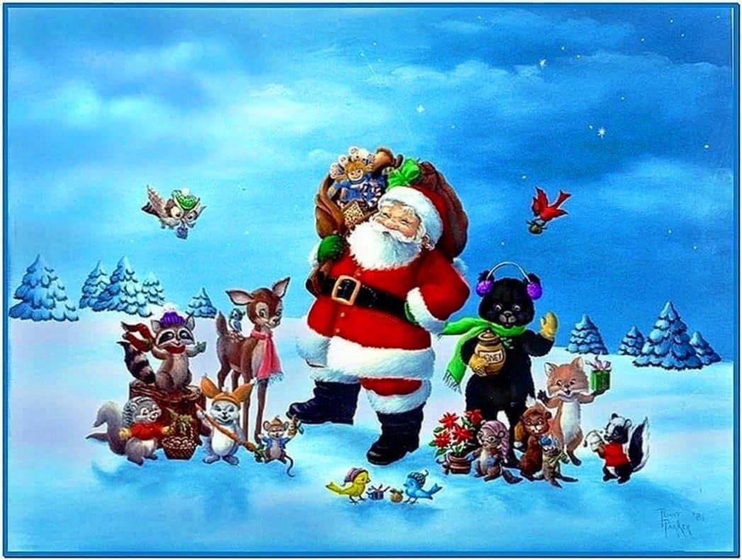 Animated Christmas Screensavers for Kids