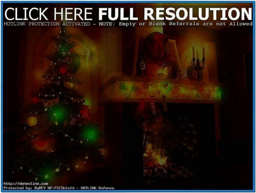 Animated Christmas Screensavers for Mobiles