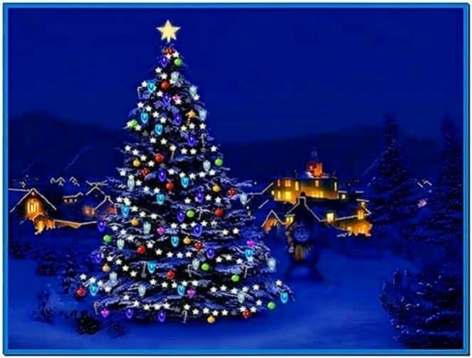 Animated christmas screensavers Windows 7