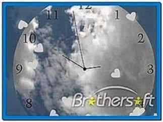 Animated Clock Screensaver for PC