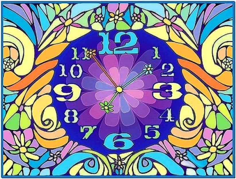 Animated Clock Screensavers Windows 7