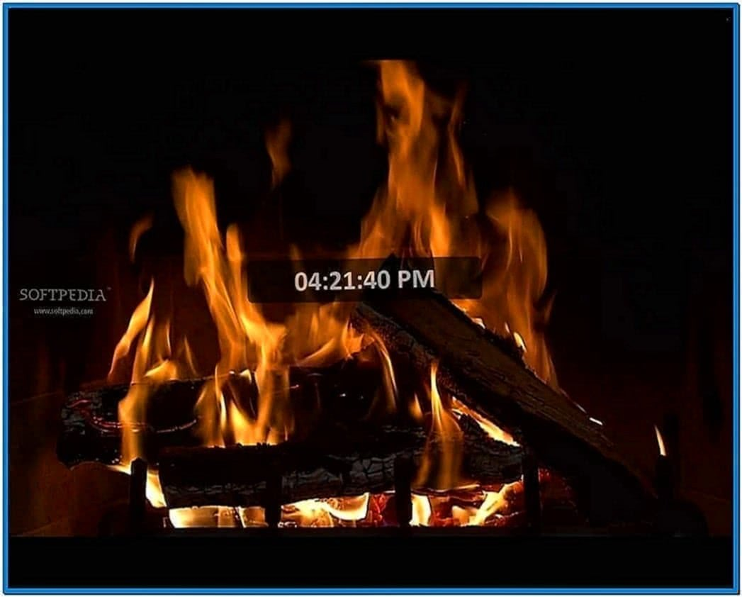 Animated Fireplace Screensavers