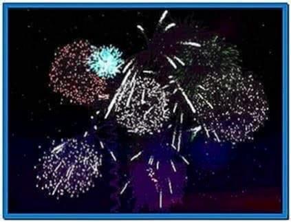 Animated fireworks screensaver freeware