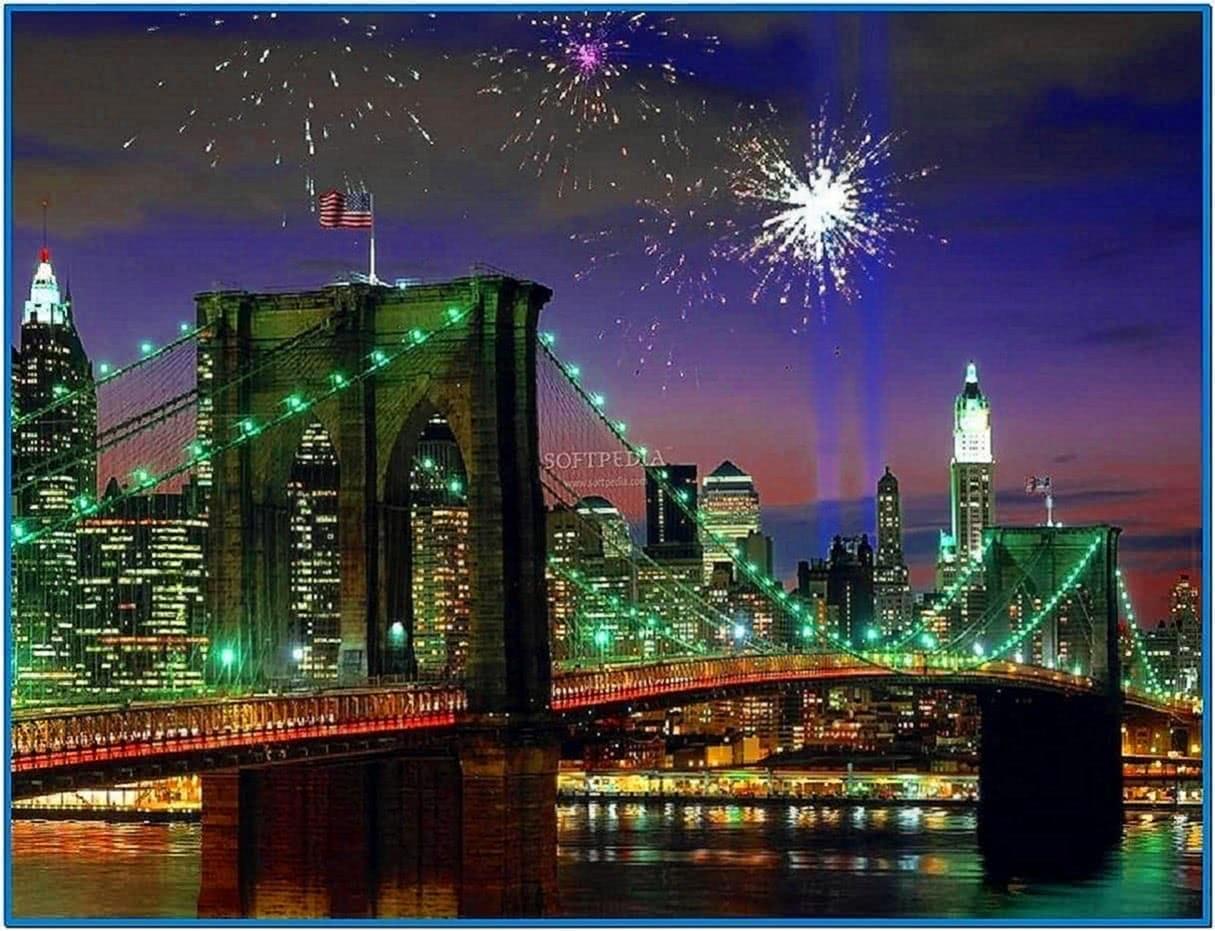 Animated Fireworks Screensaver Windows 7