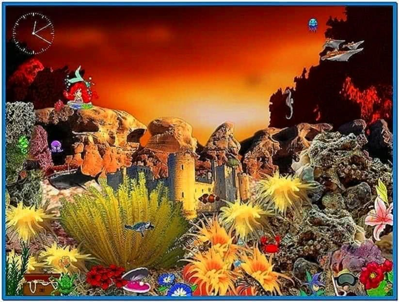 Animated fish tank screensaver download free for Animated fish tank