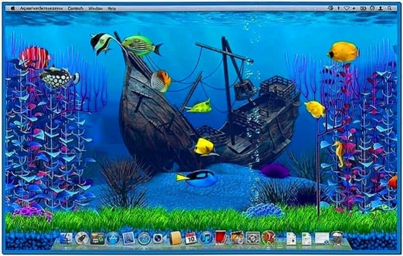Moving fish screensavers free download for Animated fish tank
