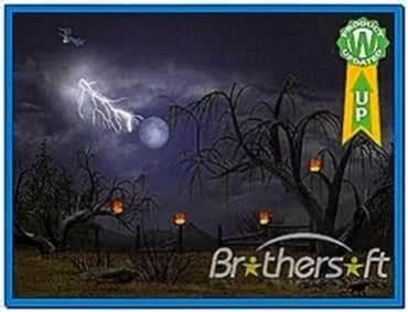 Animated Halloween Screensavers Vista
