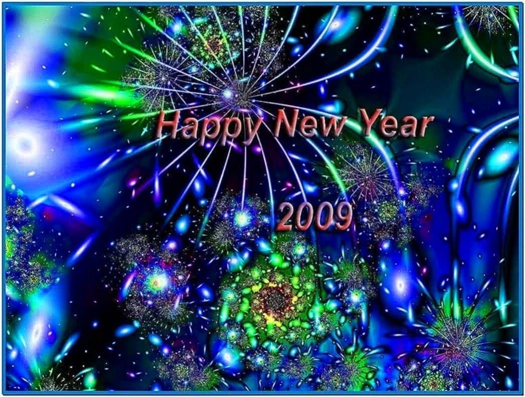 animated happy new year screensavers 2