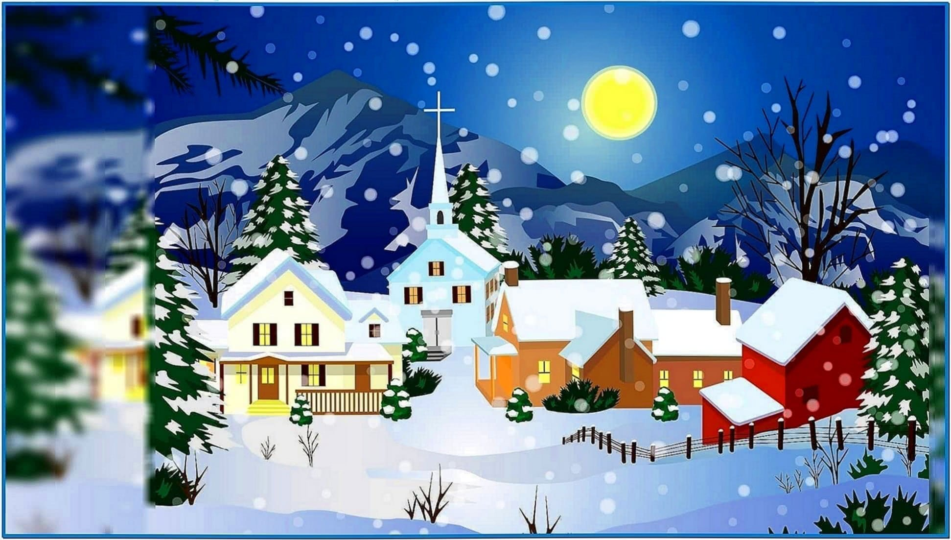 Animated Holiday Screensaver