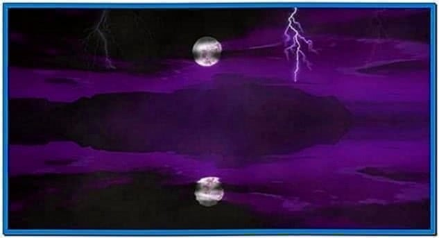 Animated Lightning Screensaver Windows 7