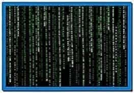 Animated Matrix Screensaver for Blackberry