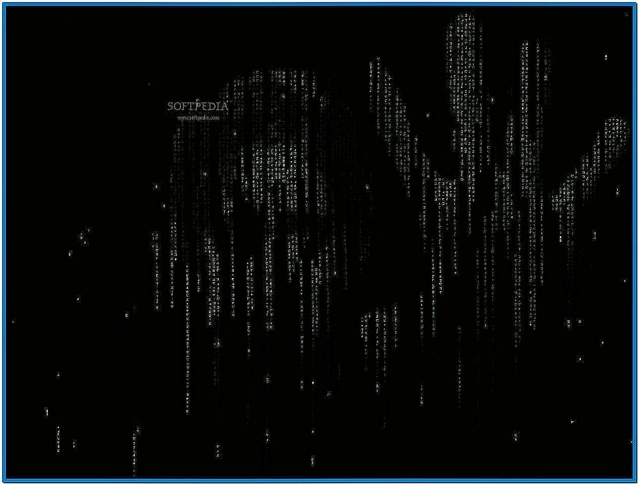 Animated matrix screensaver vista