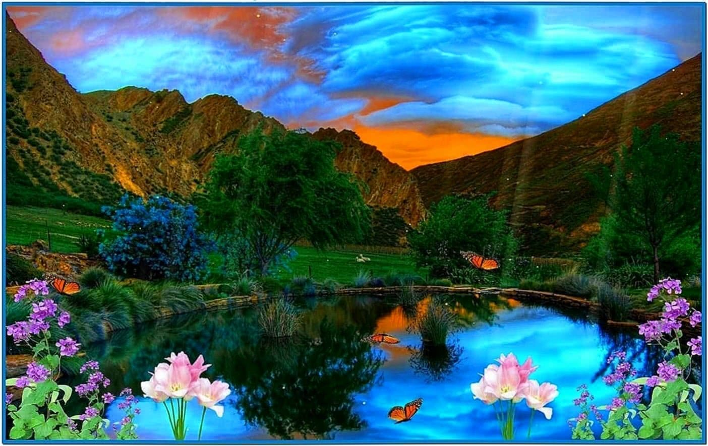 animated beautiful nature wallpaper best hd wallpapers