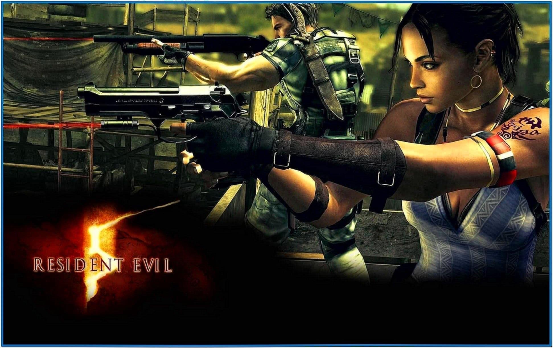 Animated Resident Evil Screensaver