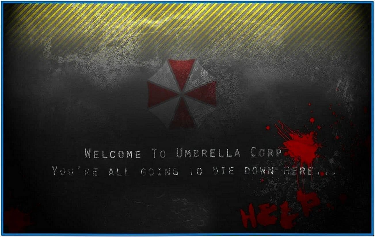 Animated Resident Evil Screensaver
