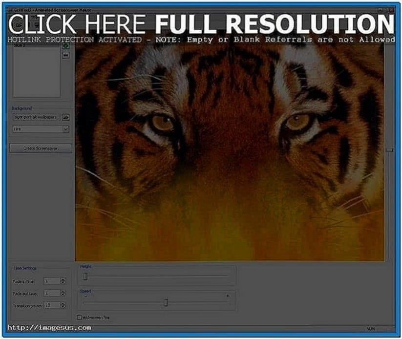 Animated Screensaver Maker Software
