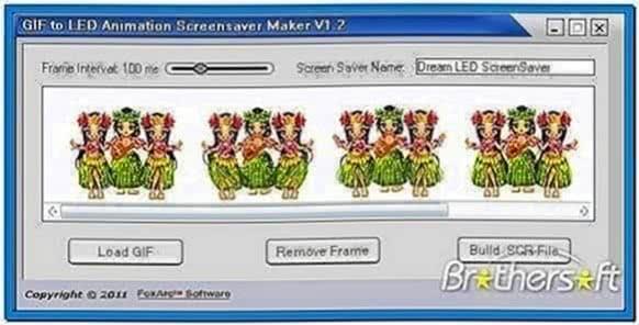 Animated Screensavers Creator Software
