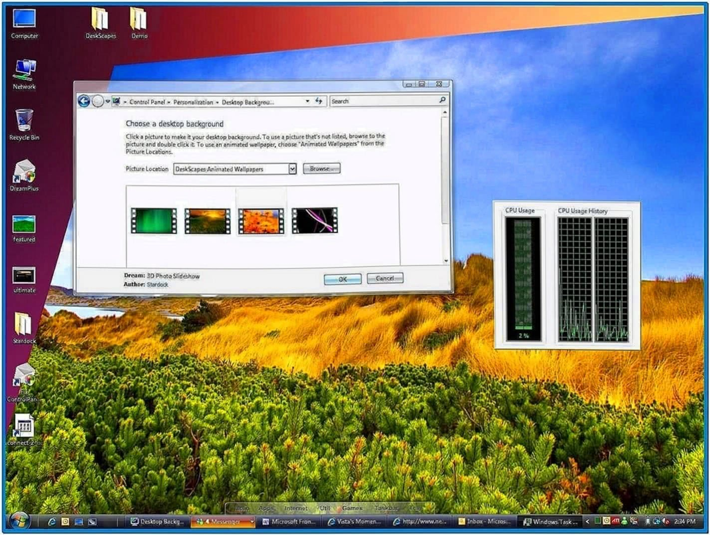 Animated Screensavers Windows Vista