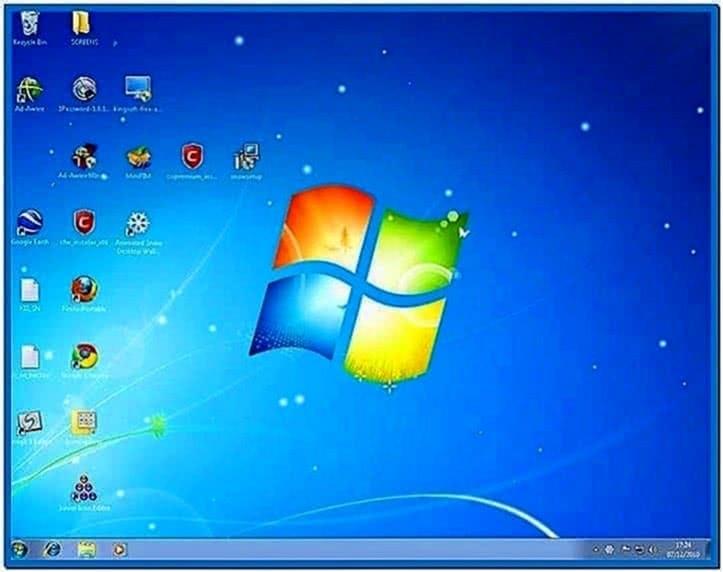 Animated Snow Screensaver Windows 7
