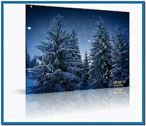 Animated Snowflakes 3D Screensaver 2.5.1