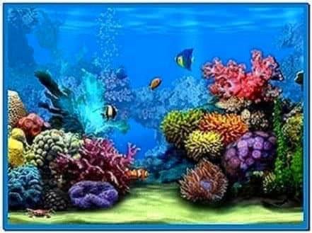 Animated Underwater Screensaver