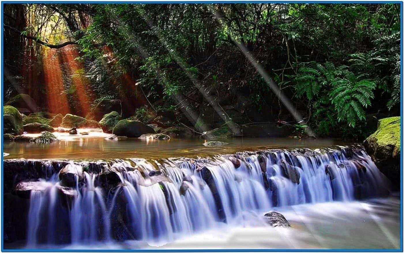 Animated Waterfalls Screensaver Windows 7