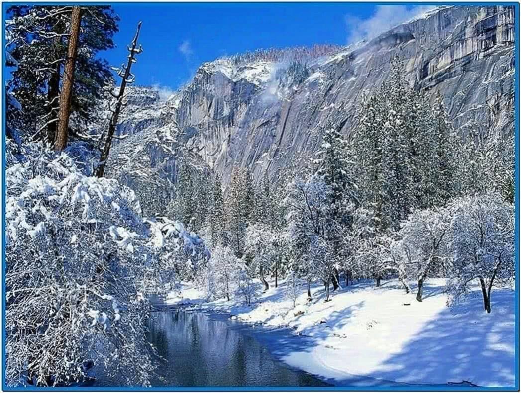 Animated Winter Scenes Screensaver