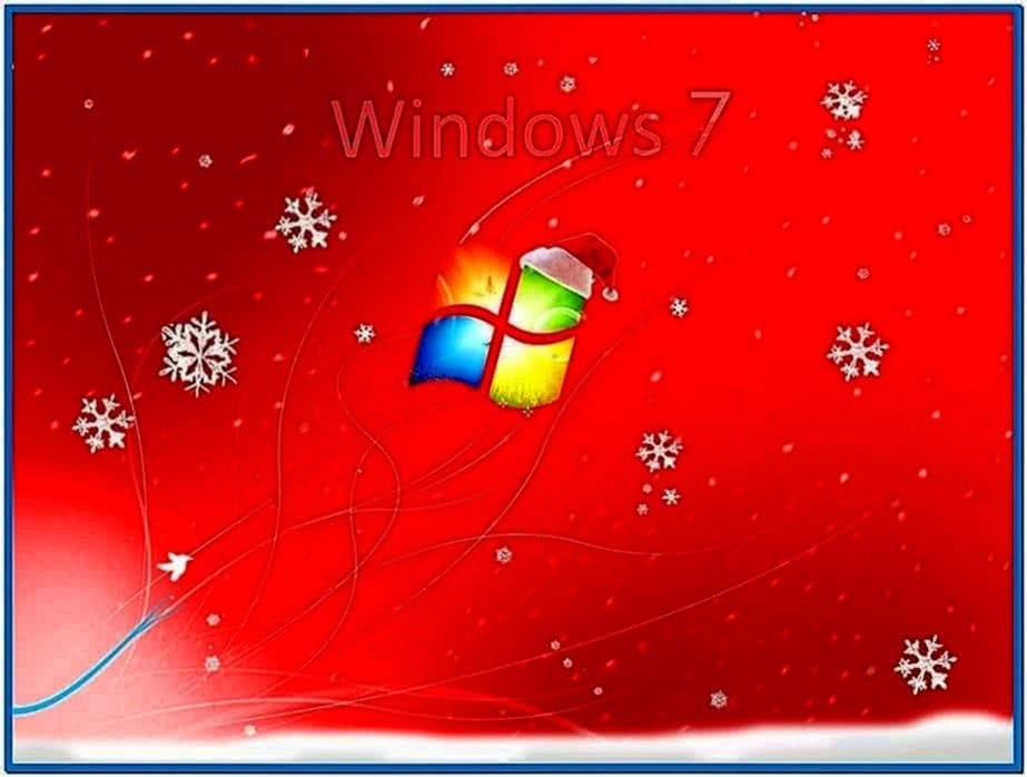 Animated Xmas Screensavers Windows 7