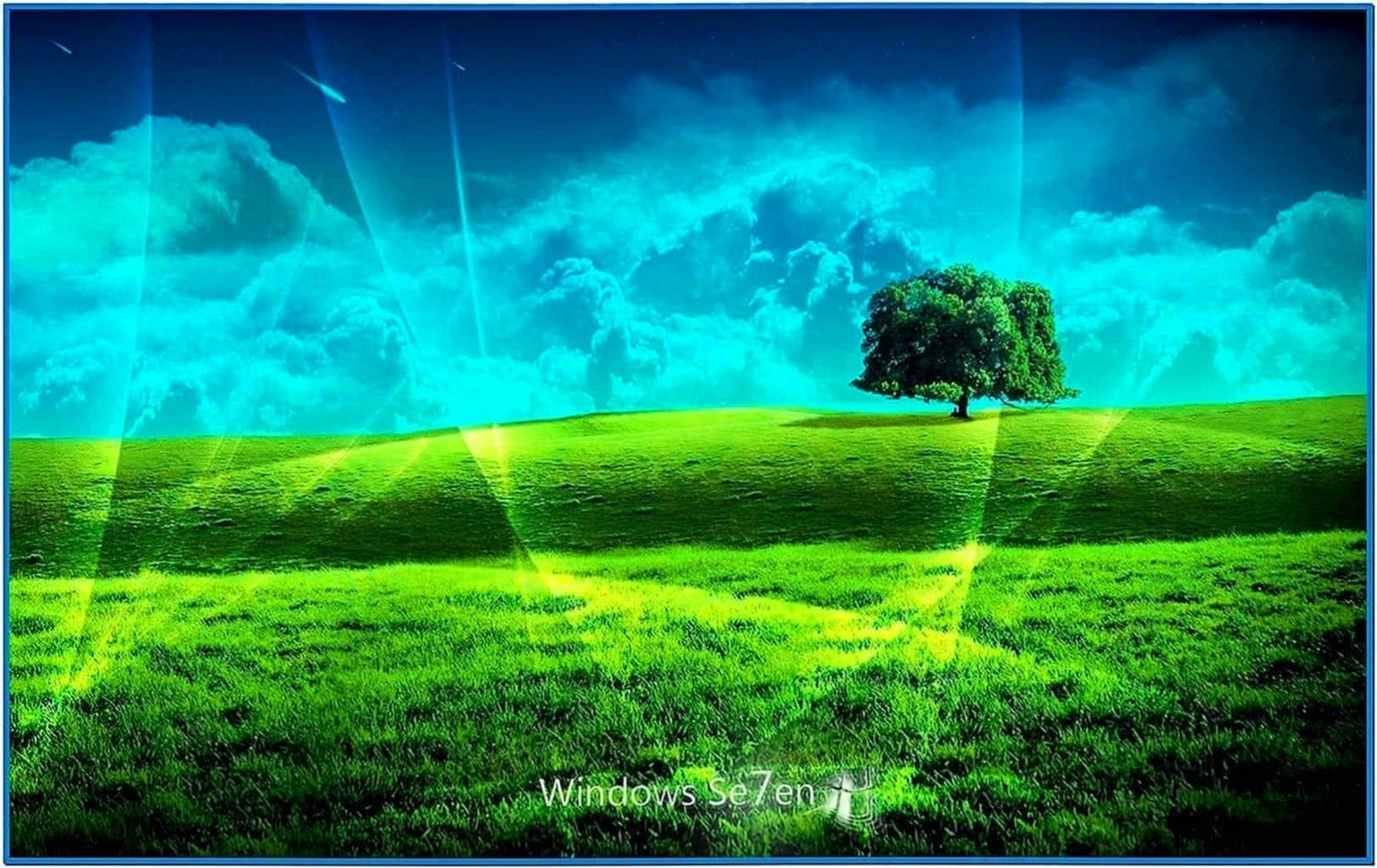 Animation Screensaver Windows 7