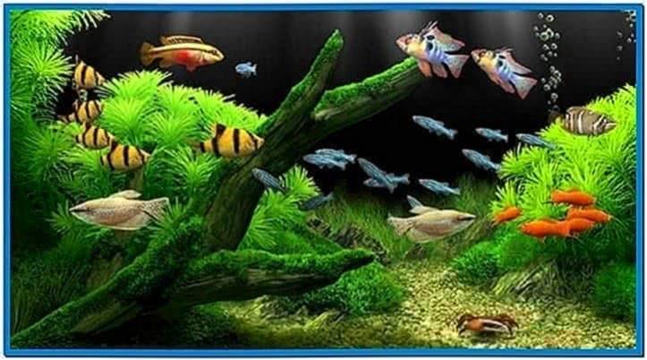 Apple Aquarium Screensaver