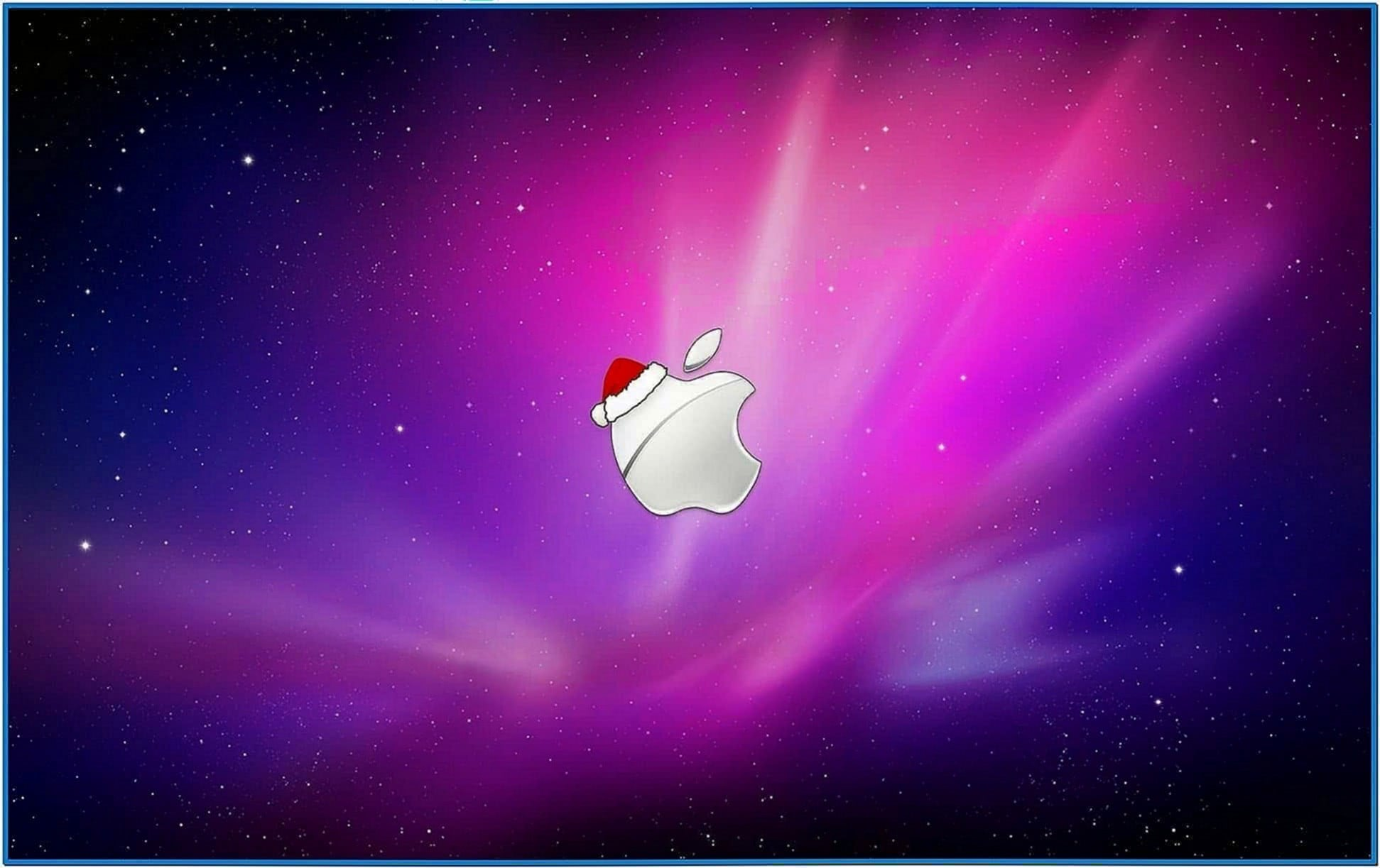 Apple Christmas Screensaver