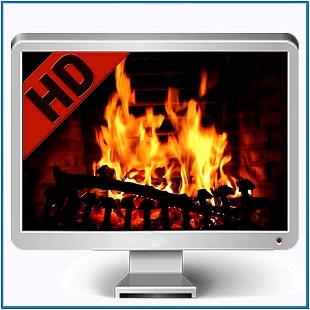 Apple Fireplace Screensaver Mac