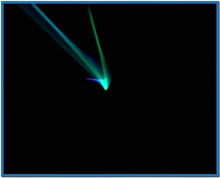 Apple Flurry Screensaver for PC