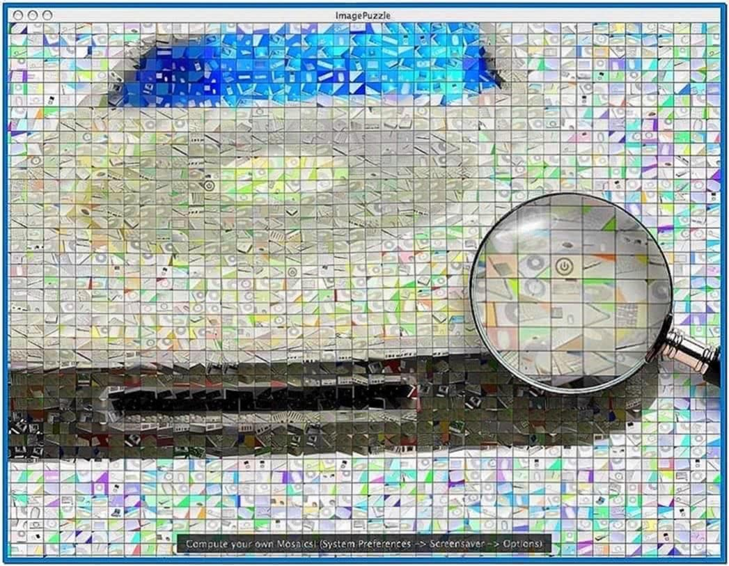 Apple Mac Mosaic Screensaver