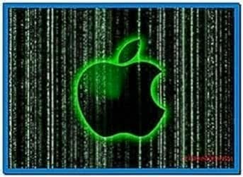 Apple Matrix Screensaver